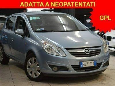 usata Opel Corsa 1.2 80CV 5 porte GPL-TECH Club