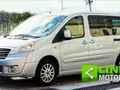 usata Fiat Scudo 2.0 mjt 136 cv panorama allestimento per trasporto disabili