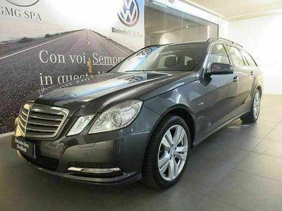 usata Mercedes E250 Classe ECDI S.W. BlueEFF. 4M. Avantgarde (2011/07->2012/01)