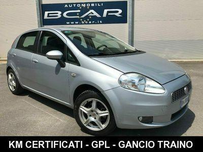 usata Fiat Grande Punto 1.2 5 porte Dynamic + GPL +CLIMA+GANCIO TRAINO
