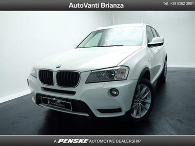 brugt BMW X3 xDrive 20d Futura