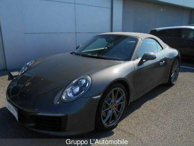 usata Porsche 911 Carrera Cabriolet 911 VII 991 2016 Cabrio 3.0 Carrera S auto