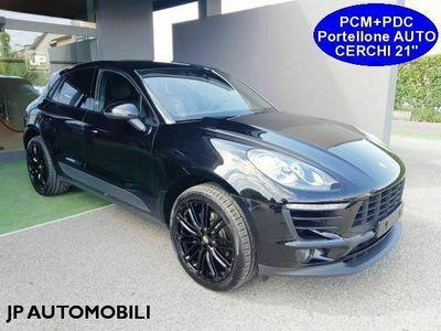 """usata Porsche Macan 2.0 252cv *TOTAL BLACK*PORTELLONE ELETT*CERCHI 21"""""""