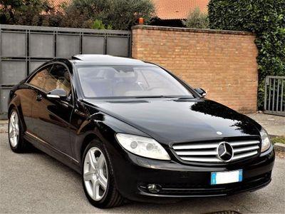 usata Mercedes CL500 SPORT-122.000km-P.Beige,Sed. risc+vent.-FULL,FULL