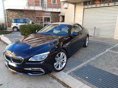 usata BMW 640 Cabriolet d Luxury 313 cv