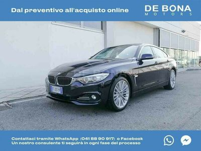 usata BMW 430 Serie 4 dA g.coupe xdrive Luxury my15