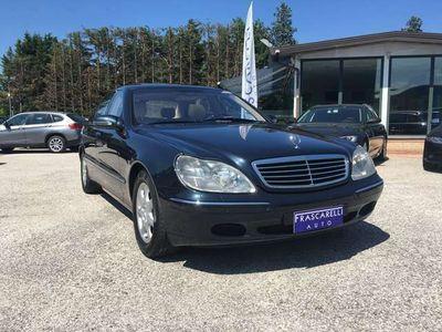 usata Mercedes S500 S LUNGA /SEDILI RISCALDATI VEN
