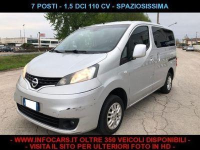 usado Nissan Evalia 1.5 dCi 8V 110 CV 7 POSTI