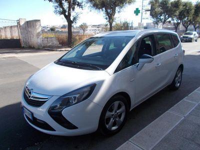 usata Opel Zafira Tourer 1.6 Turbo EcoMETANO 150CV Cosmo BLUETHOOT,7 POSTI