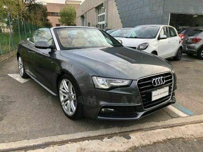 usata Audi A5 Cabriolet 2.0 TDI clean diesel multitron S-Line