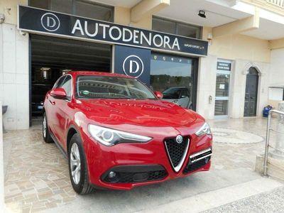 usata Alfa Romeo Stelvio 2.2 Turbodiesel 180CV RWD, PELLE, NAVI, XENO