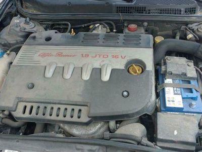 usata Alfa Romeo GT 1.9 MJT 16V Luxury Euro 4 ottimo stato pelle rossa