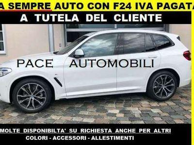 usata BMW X3 20d m sport m-sport msport forniamo f24 iva pagata