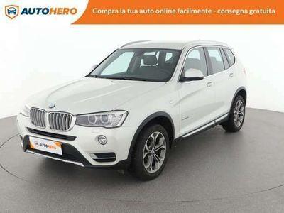 usata BMW X3 xDrive20d xLine - CONSEGNA A CASA GRATIS