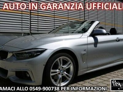 "usata BMW 420 d Cabrio Msport LED NAVI 18"" CRUISE"
