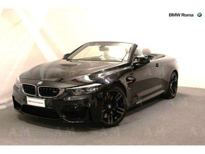usata BMW M4 Serie 4 Cabriodel 2017 usata a Roma