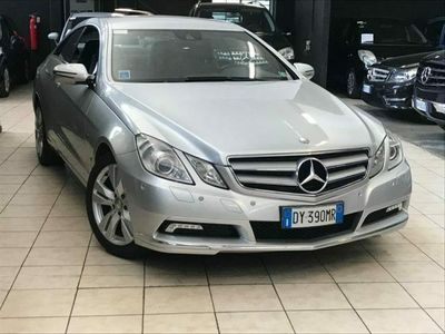 usata Mercedes E250 CDI Coupé BlueEFFICIENCY Avantgarde (im) DY390MR