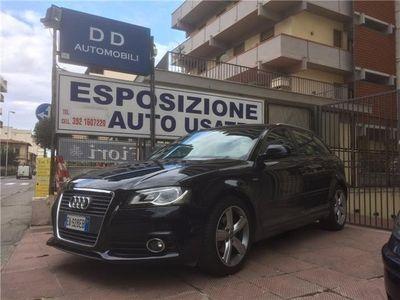 "usata Audi A3 "" S-line + Led + Xenon ""spb. 2.0 Tdi S Tronic Auto Usato"