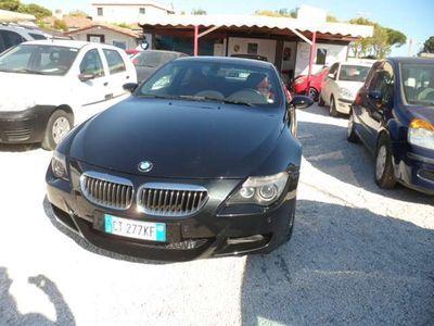 usata BMW M6 UNI PRO TAGLIANDI VISIBILI SOLO PERFETTA