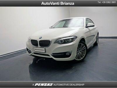 usata BMW 218 ANDERE d Coupé Luxury aut.