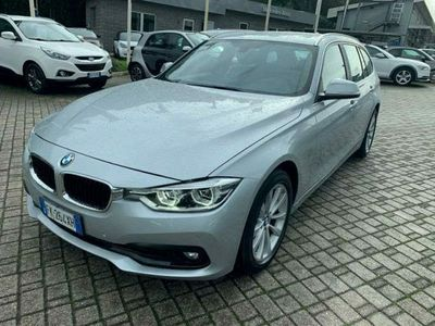 usata BMW 318 serie 3 d touring luxury auto. e6