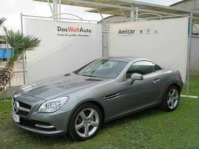 usata Mercedes 200 Classe SLK (R172) ,Premium XENO PELLE CLIMA AUTOMATICO