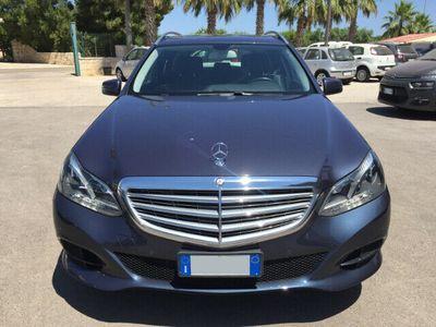 begagnad Mercedes E220 Bluetec S.w. Automatic Business Euro 6