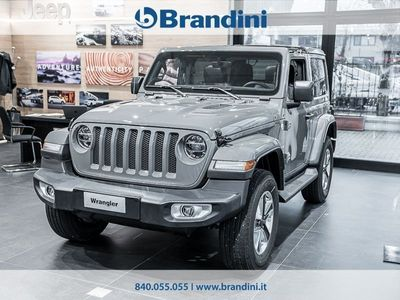 usata Jeep Wrangler JL Sahara 2.2 Ds 200cv At8 My 19
