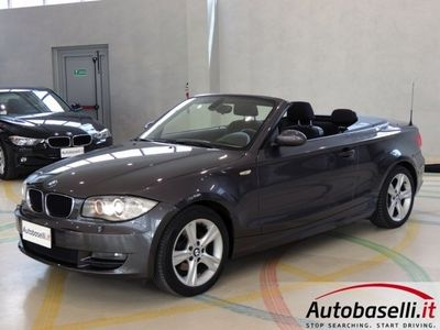 usata BMW 118 Cabriolet FUTURA 143CV EURO4 FAP GARANZIA 12 MESI