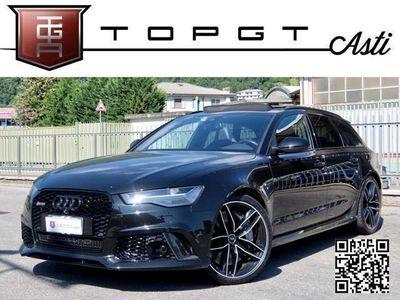 usata Audi RS6 4.0 TFSI 560cv AVANT QUATTRO TIPTRONIC CARBOCERAMICA MATRIX BOSE 21″ RESTYLING DINAMIC PLUS PERMUTE