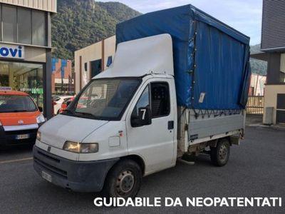 usata Fiat Ducato 14 2.5 diesel PC CARRO CON CENTINA E TELO