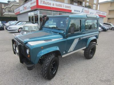 brugt Land Rover Defender 90 2.5 Tdi County '98 -7 POSTI