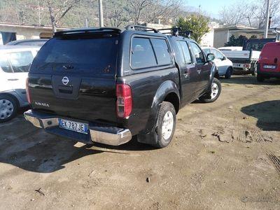 usata Nissan Navara double cab 190 cv- 2011