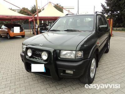 usado Opel Frontera 16v dti wagon limited diesel