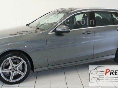 "used Mercedes C180 d S.W. Auto allestimento AMG navi xenon ""18"""