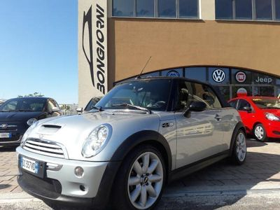 usata Mini Cooper S Cabriolet 1600cc benzina automatica pelle xeno km 74000