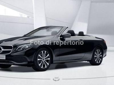 usata Mercedes E220 CLASSE E CABRIOAuto Sport