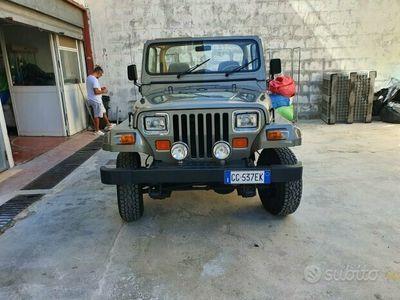 usata Jeep Wrangler yj 2.5 anno 89 iscritta asi