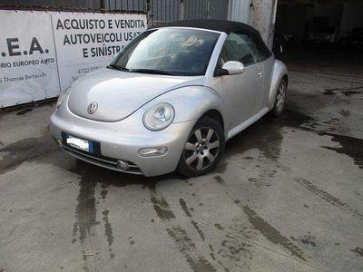 brugt VW Beetle New1.9 TDI 101CV Cabrio