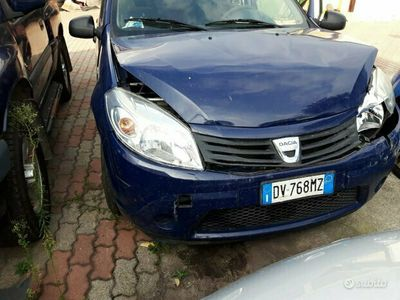 usata Dacia Sandero 2009 1.4 gpl(solo x export)