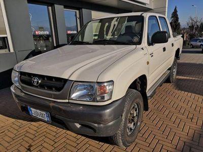 usado Toyota HiLux Pick-up 2.5 D-4D 4WD 4p.Double Cab Pup.DLX del 2003 usata a Cuneo