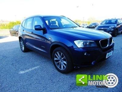 usata BMW X3 Xdrive20d, anno 2013, tagliandi certificati