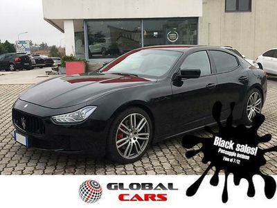 usata Maserati Ghibli 3.0 Diesel/UNICO PROPRIETARIO/BLAC