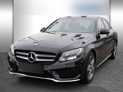 usata Mercedes C180 Amg Line Standhz 360° Navi Pts