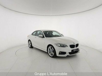 usata BMW 220 Serie 2 Coupé Serie 2 F22 Coupe d coupe Msport 190cv auto my15