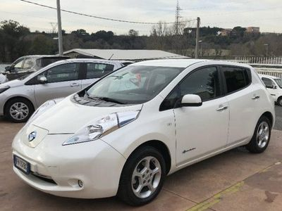 usata Nissan Leaf acenta 30kwh cold pack solar spoiler elettrica