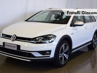 usata VW Golf Alltrack Variant 2.0 TDI DSG 4MOTION BlueMotion Tech. del 2018 usata a Assago