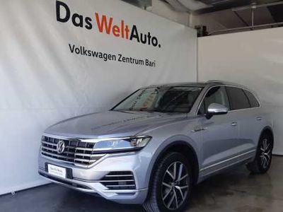 usado VW Touareg 3.0 TDI 286 CV Advanced del 2018 usata a Bari