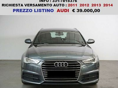 usata Audi A6 3.0 tdi aut avant s line cv 218