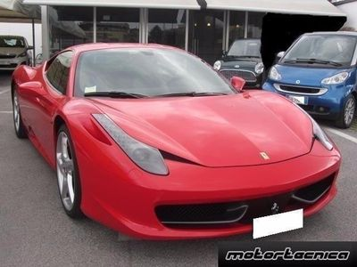 usata Ferrari 458 Italia Italia Dct Italiana Unico Propietario Usato